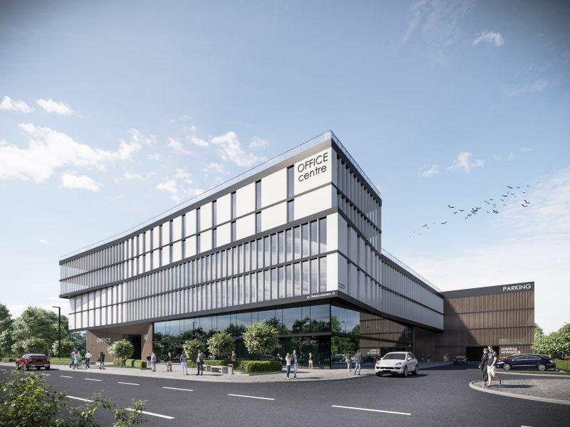 Концепция офисного здания