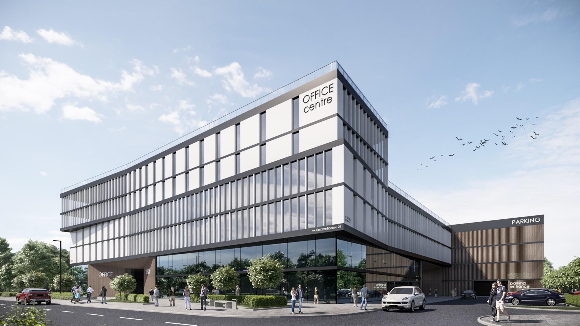 Концепция oфисного здания